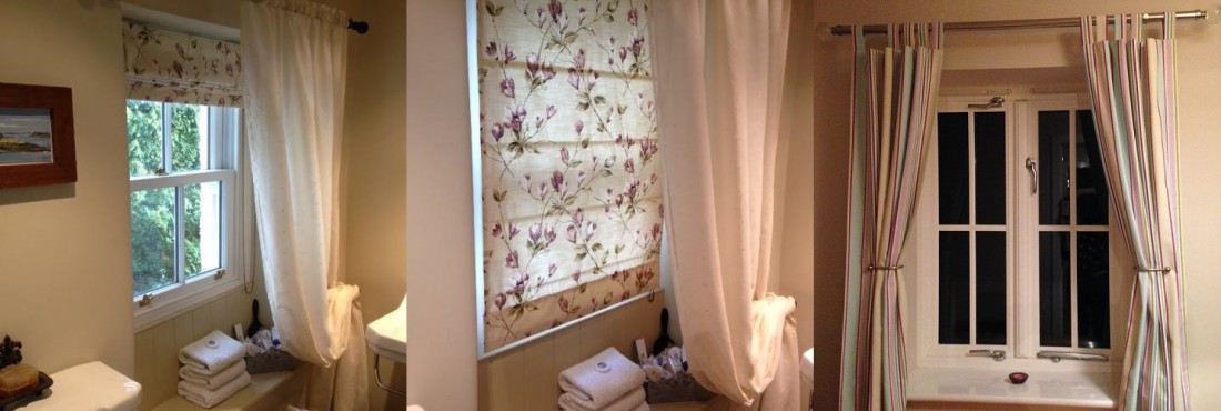 Roman blinds curtains learn to make your own the for Curtains that look like roman shades